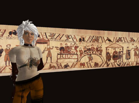 Marie Arnold and the Bayeux Tapestry