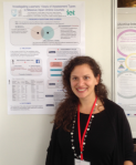Tina presenting her work at the ECTEL 2015 conference
