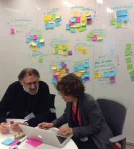 Brainstorming at the design charette