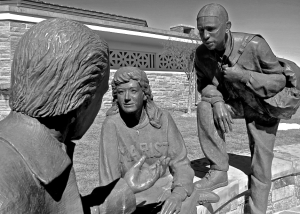 Learning together: sculpture on the Marist campus