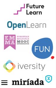 European MOOC platforms