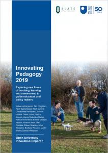 Cover of Innovating Pedagogy 2019