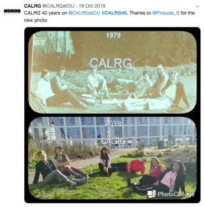 CALRG40 log on a laptop screen