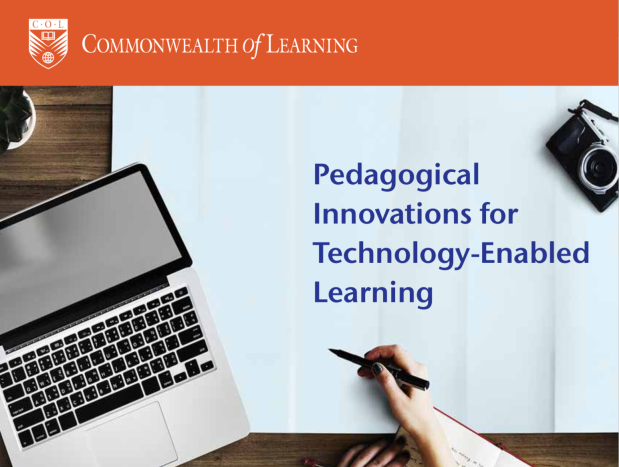 Part of the cover of 'Pedagogical innovations for technology-enabled learning'
